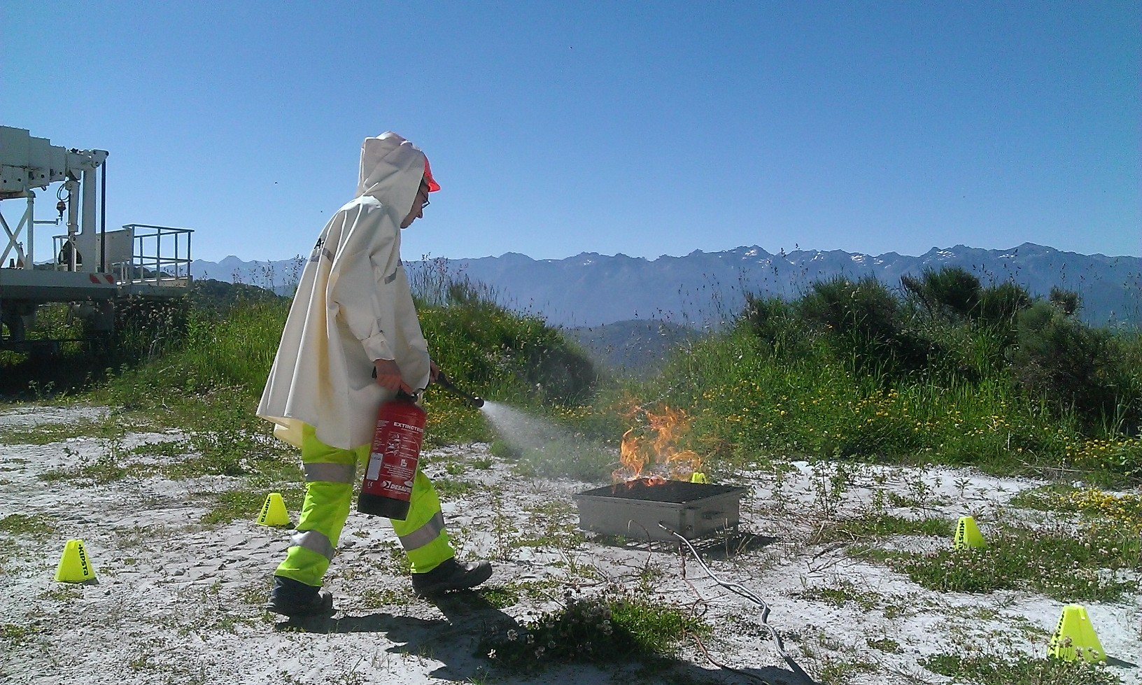 image PONCHEX vêtement de protection incendie