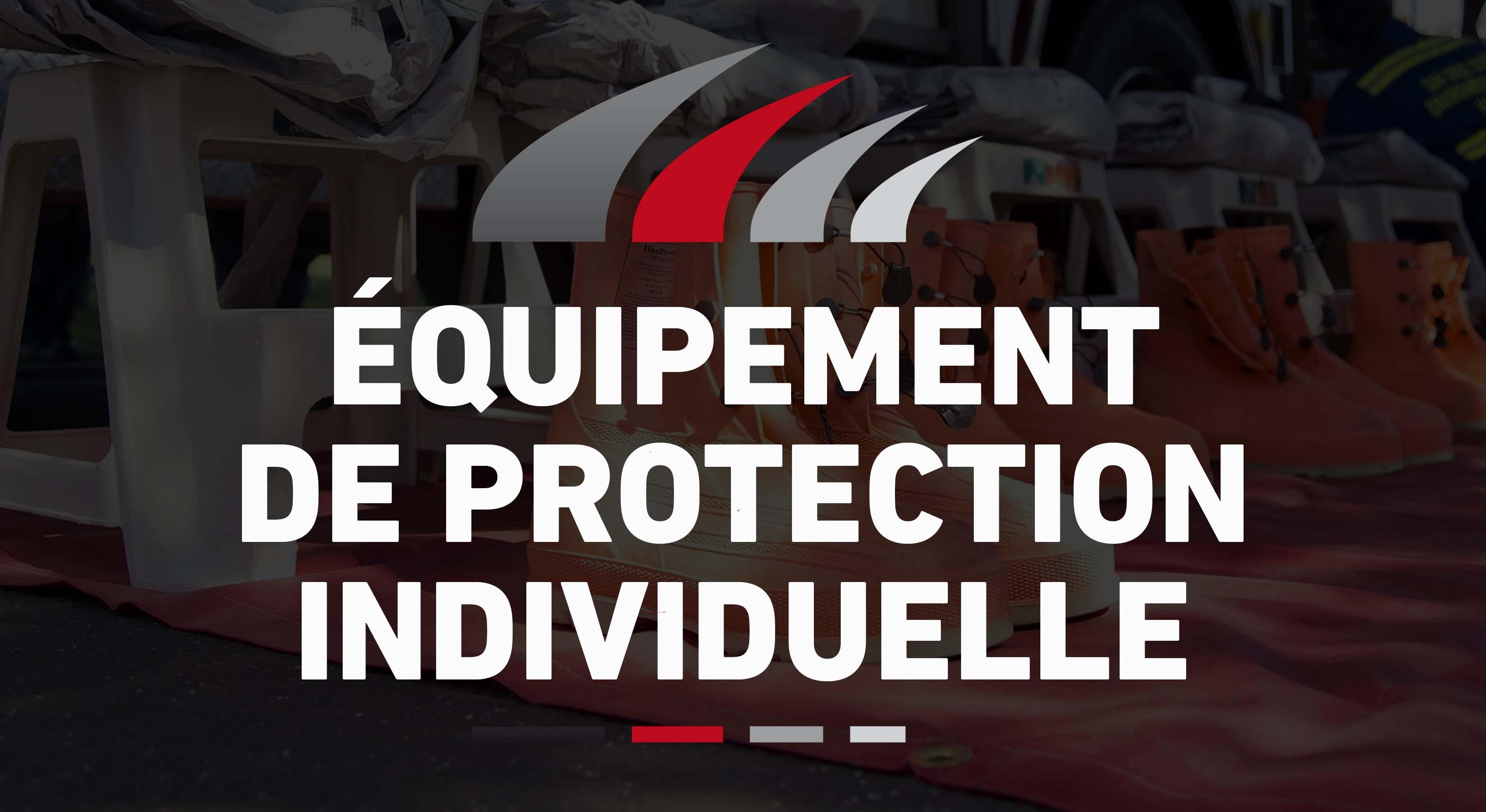 image matériel - équipemement de protection individuelle