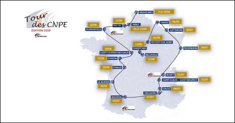 Tour de France 2020 des CNPE-DR Technologie