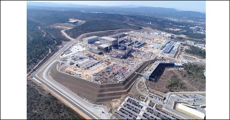 Energie solaire sur terre - Corridor ITER