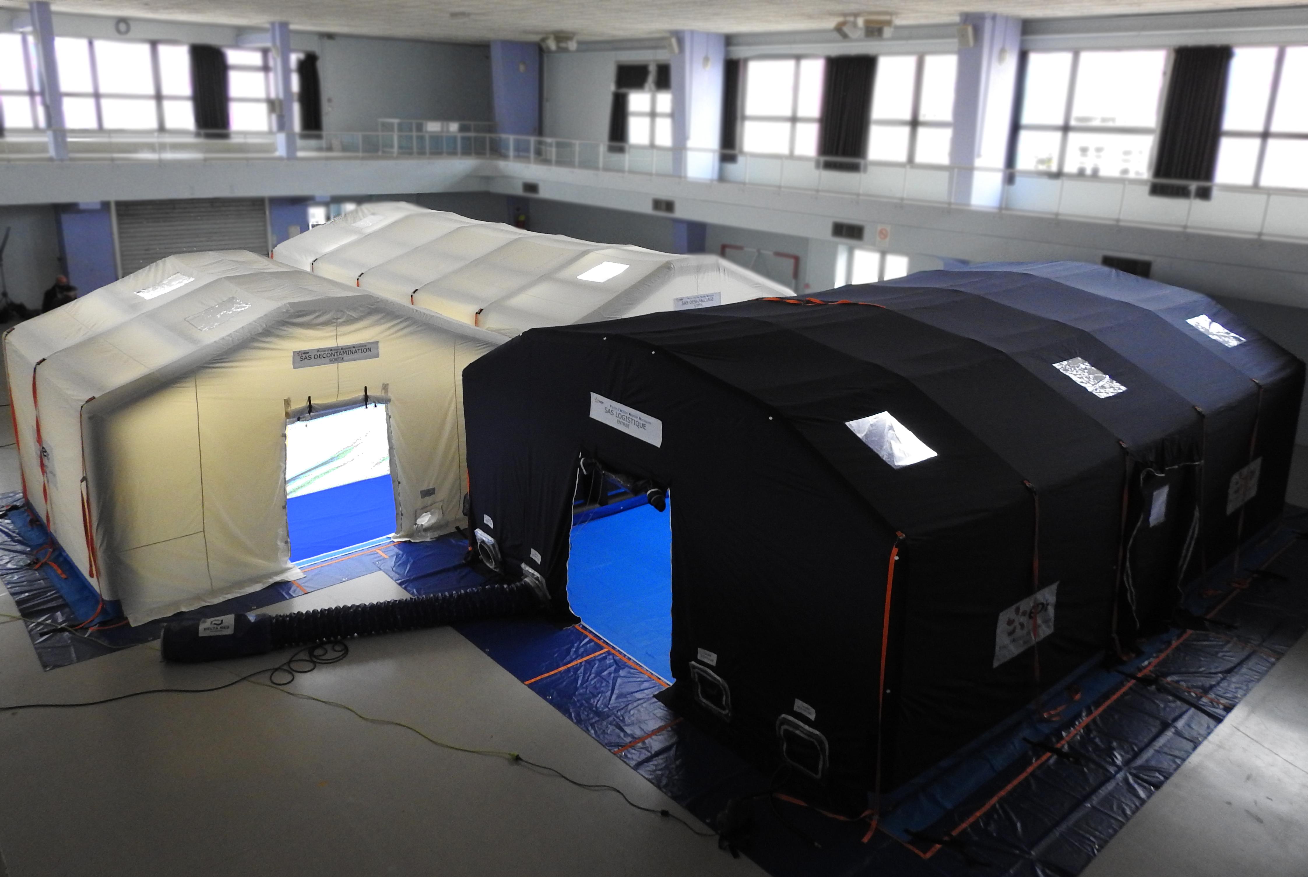 12 mins de gonflable et 150m² d'espace sécurisé