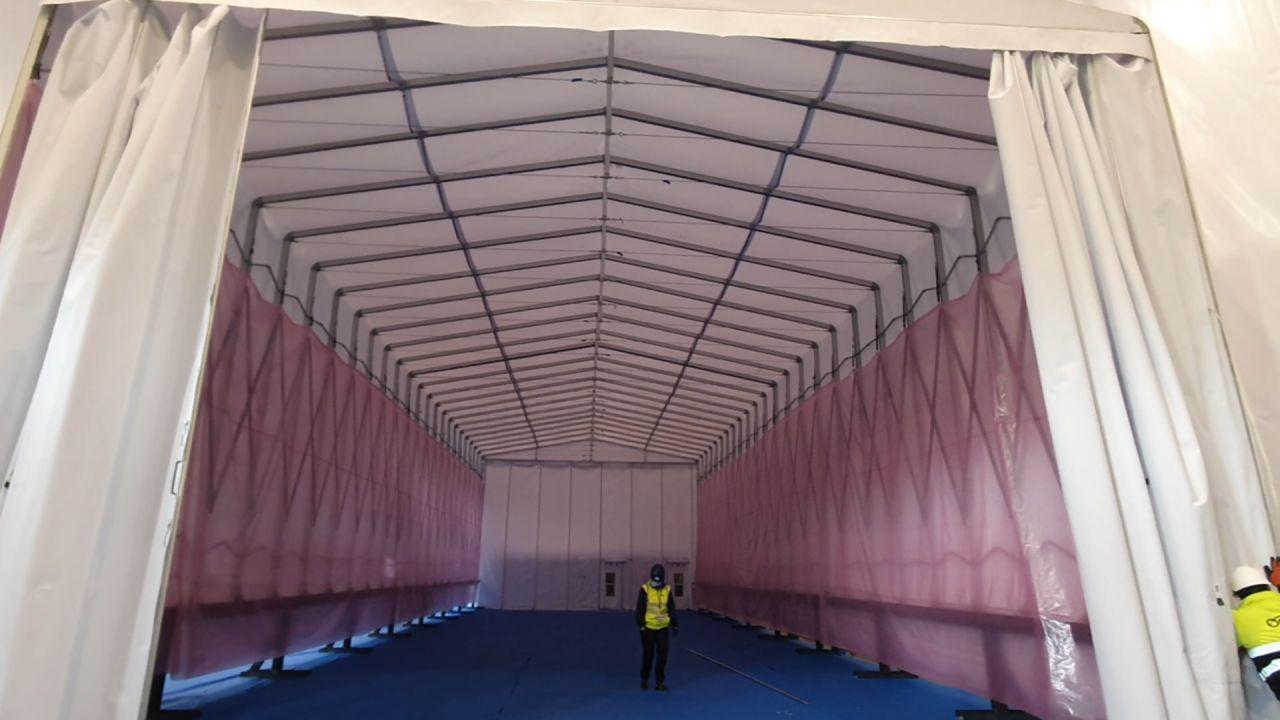 tunnel rétractable