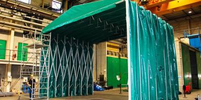 Tunnel déployable : l'abri prêt à être déplié en toutes situations