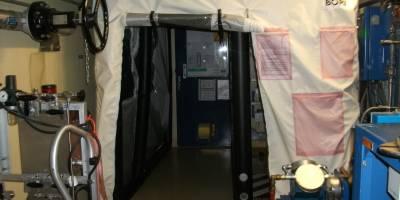 Sas spécifiques conçus pour protéger les zones critiques au sein d'installations complexes